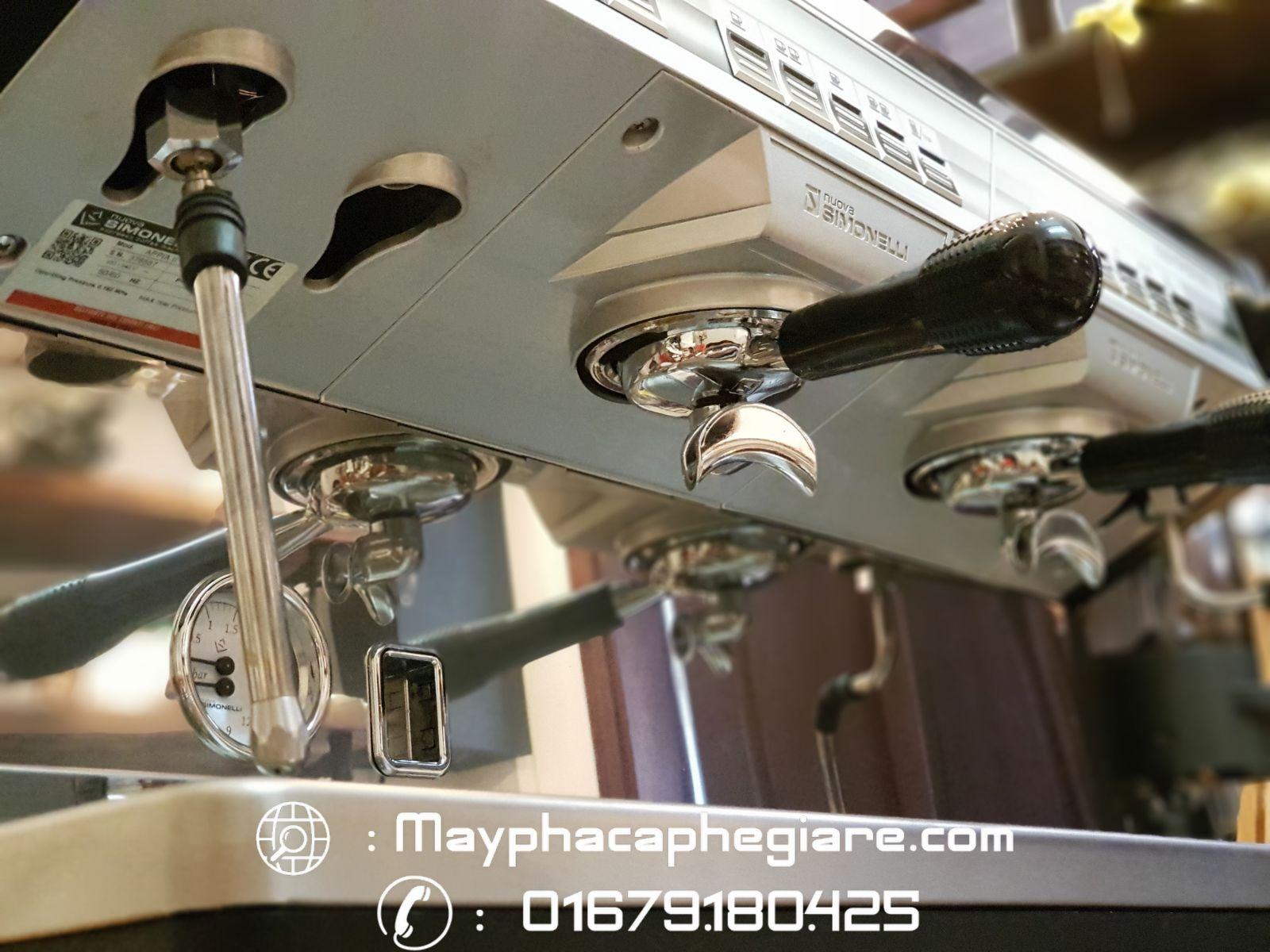 Tiện ích của máy pha cà phê nuova simonelli appia ii 1 group