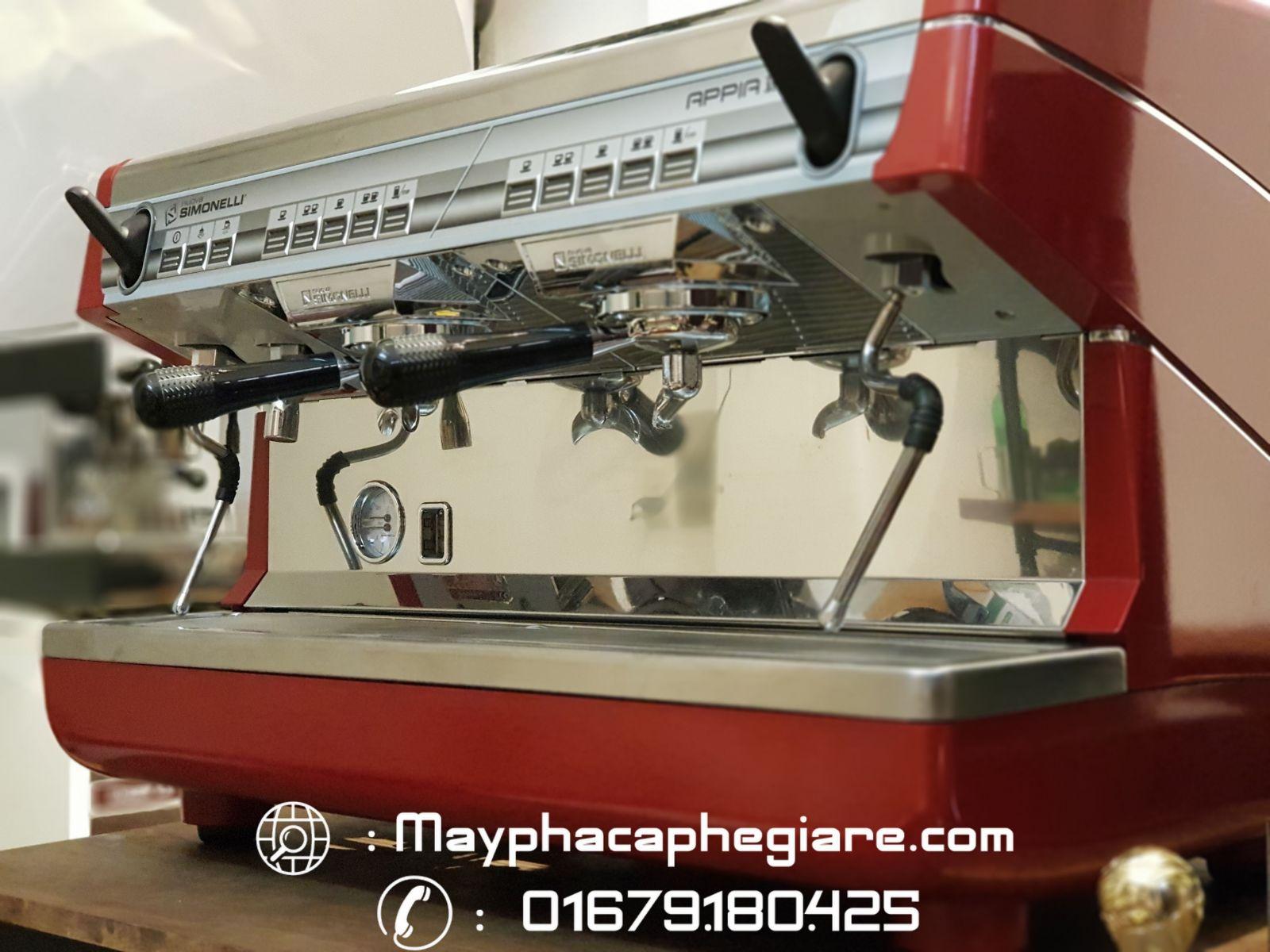 máy pha cà phê tự động simonelli