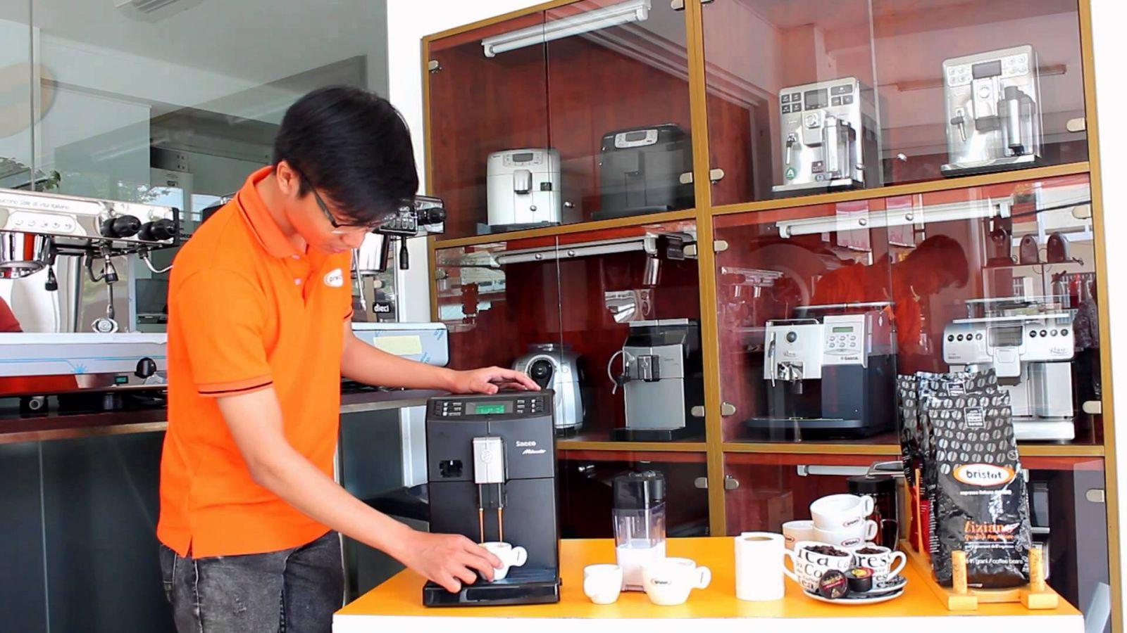 máy pha cà phê Nescafe Alegria