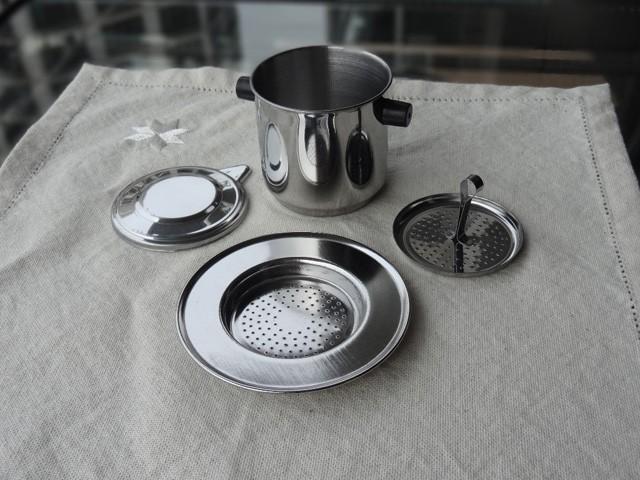 Máy pha cà phê nén tay